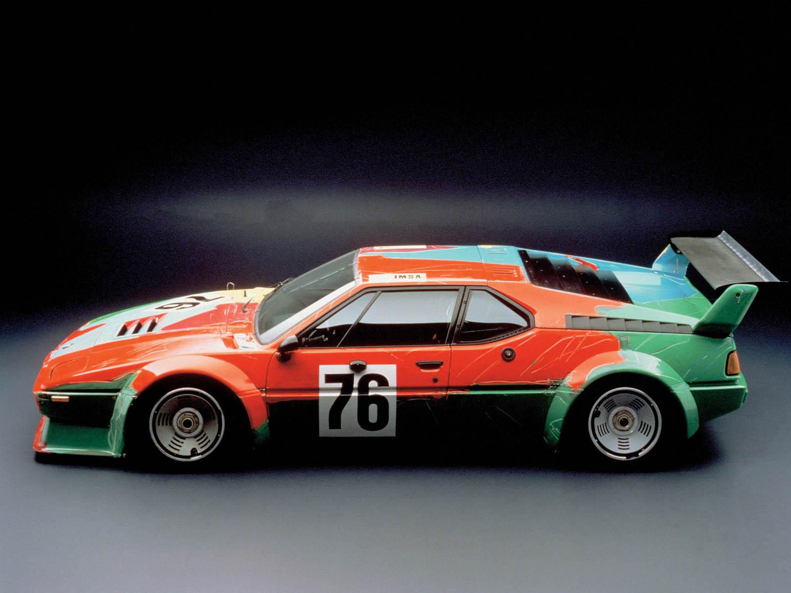 BMW M1 - 4-я машина из коллекции BMW Art cars