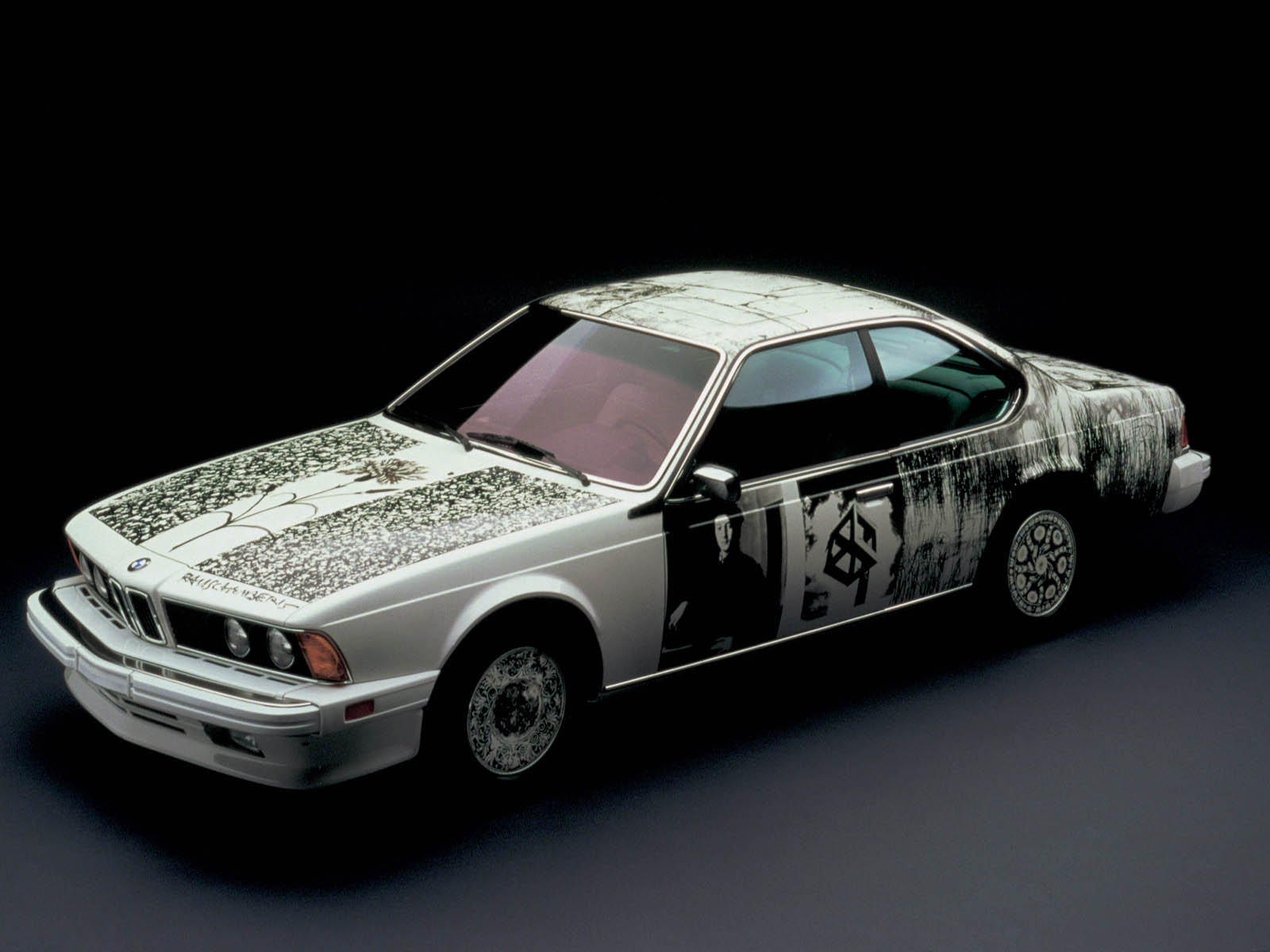 BMW 635 Csi art car