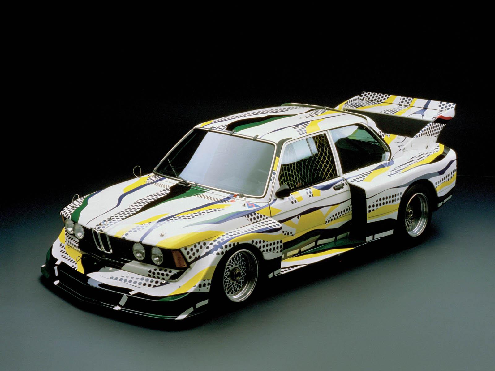 3-я машина из коллекции BMW Art cars - BMW 320i