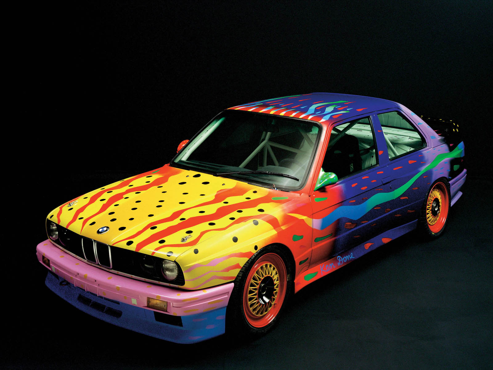 BMW E30 M3 Art Car