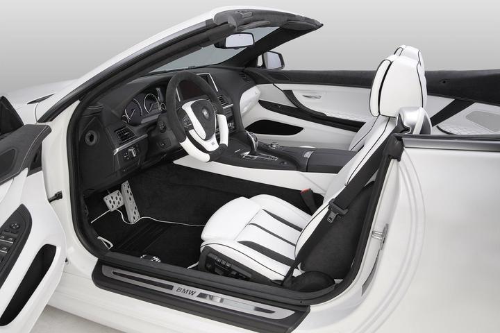 BMW F12 650i Lumma Design CLR 600 GT тюнинг кабриолета