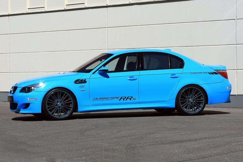 Тюнинг BMW M5 E60 G-Power Hurricane RRs