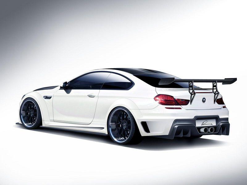Тюнинг BMW M6 F13 CLR 6 М от Lumma Design вид сзади