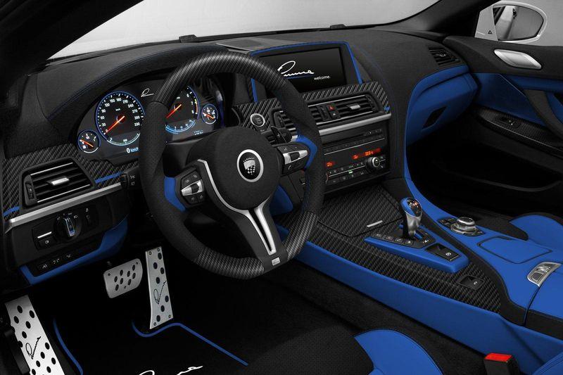 Тюнинг BMW M6 F13 CLR 6 М от Lumma Design салон