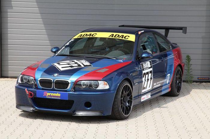 Тюнинг BMW M3 E46 CSL от MR Car Design