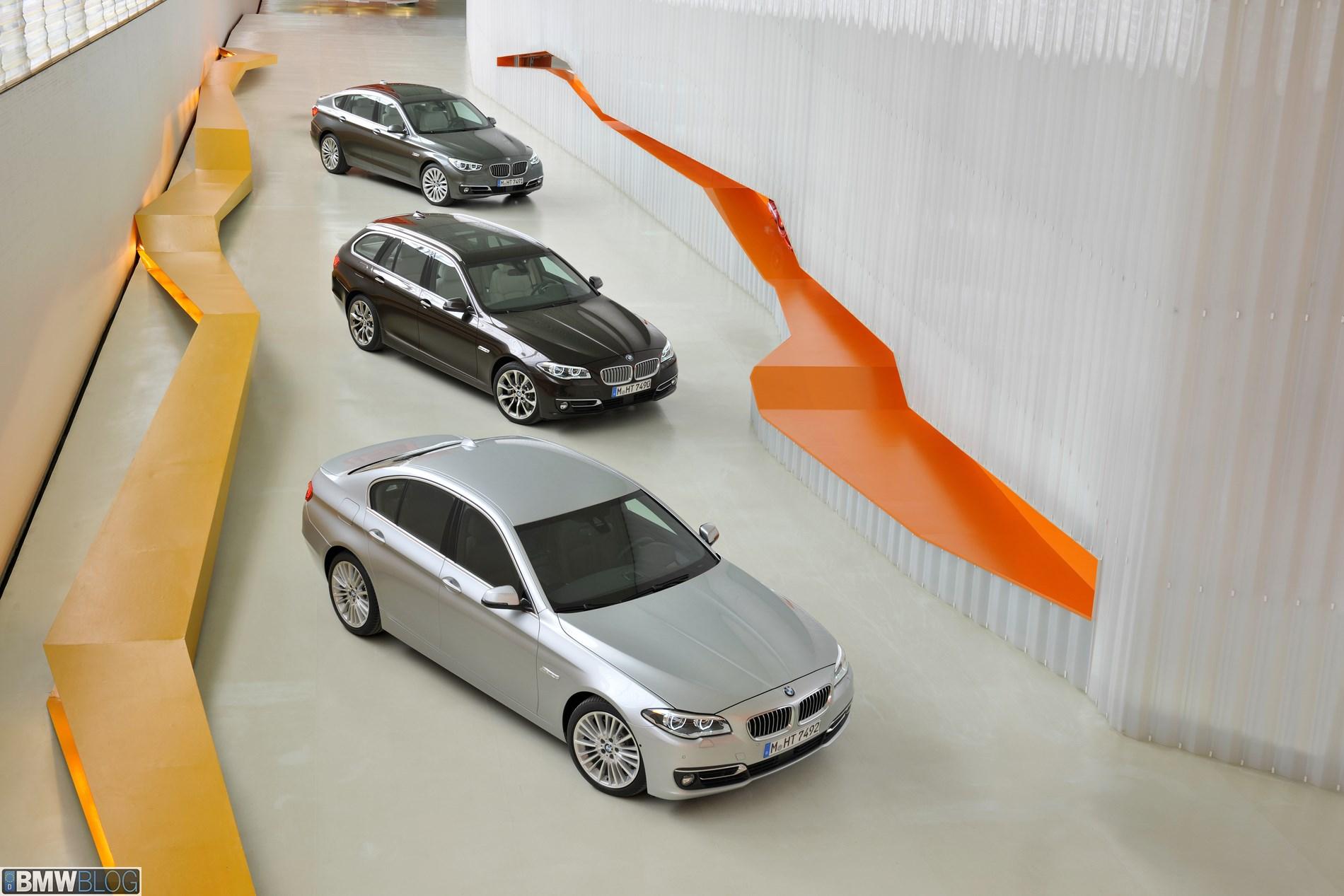 BMW показало рост продаж. Производство 5-й серии BMW рестайлинг