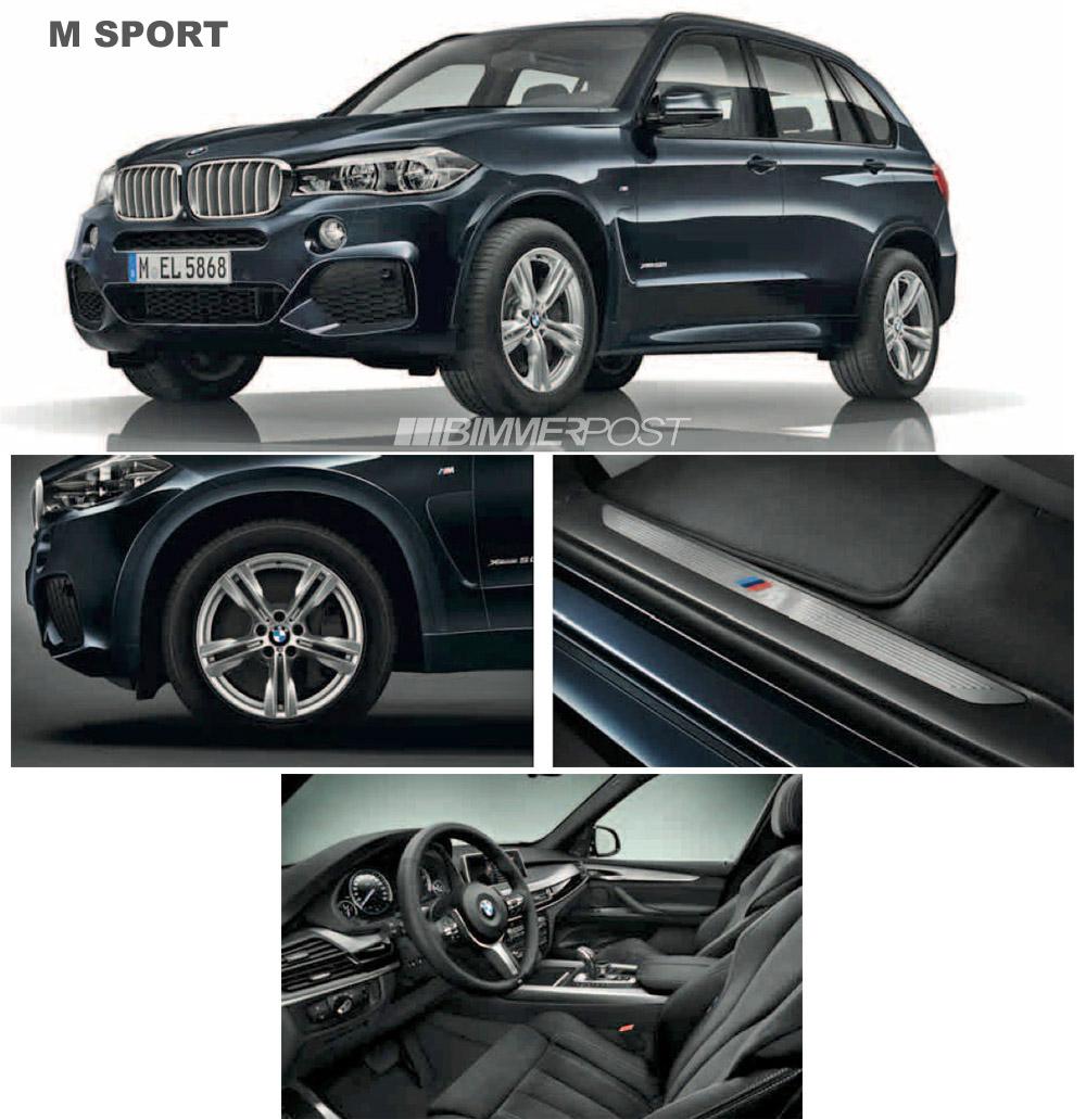 BMW X5 F15 M Sport