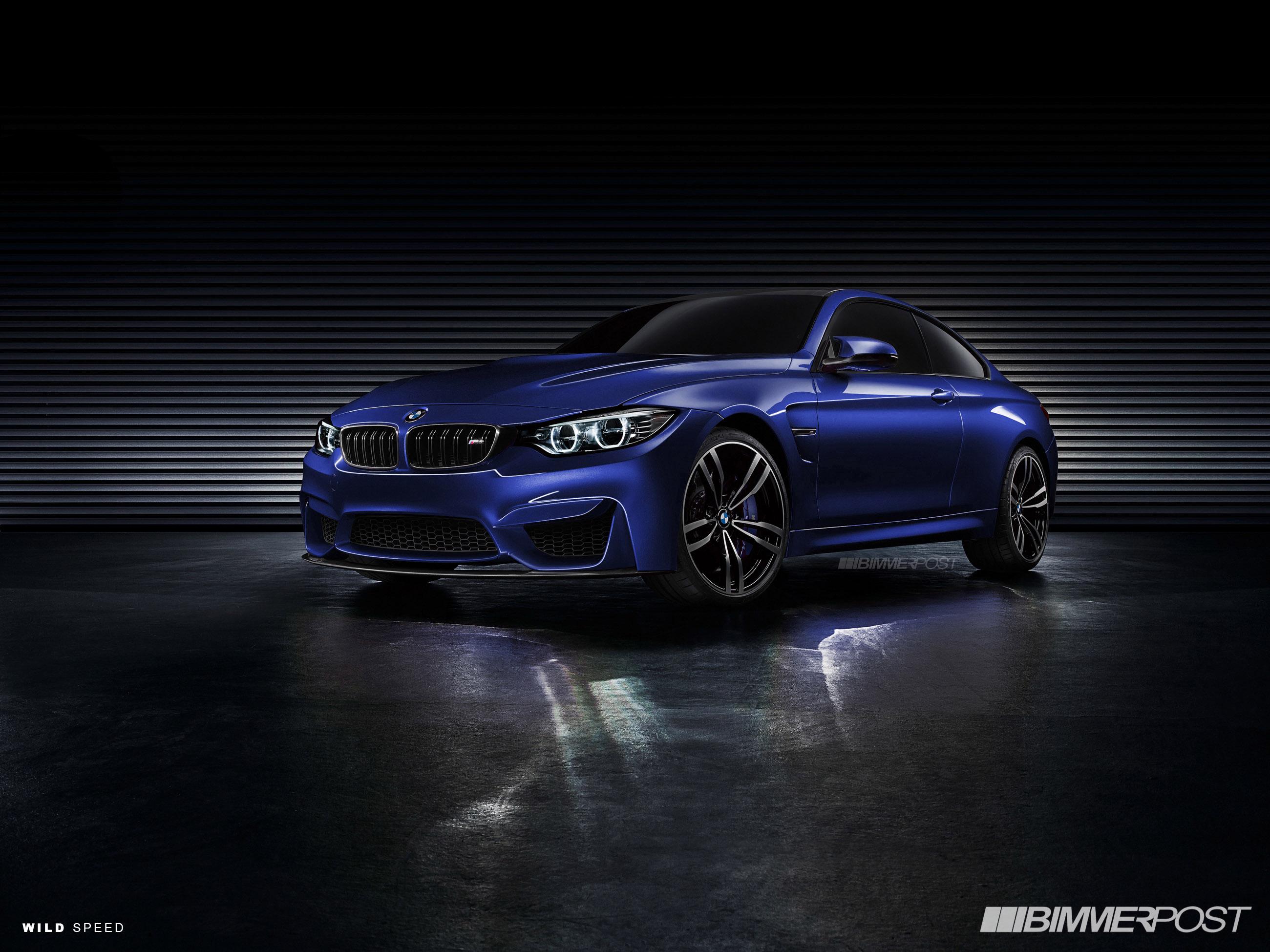BMW M4 F80 Концепт 2013
