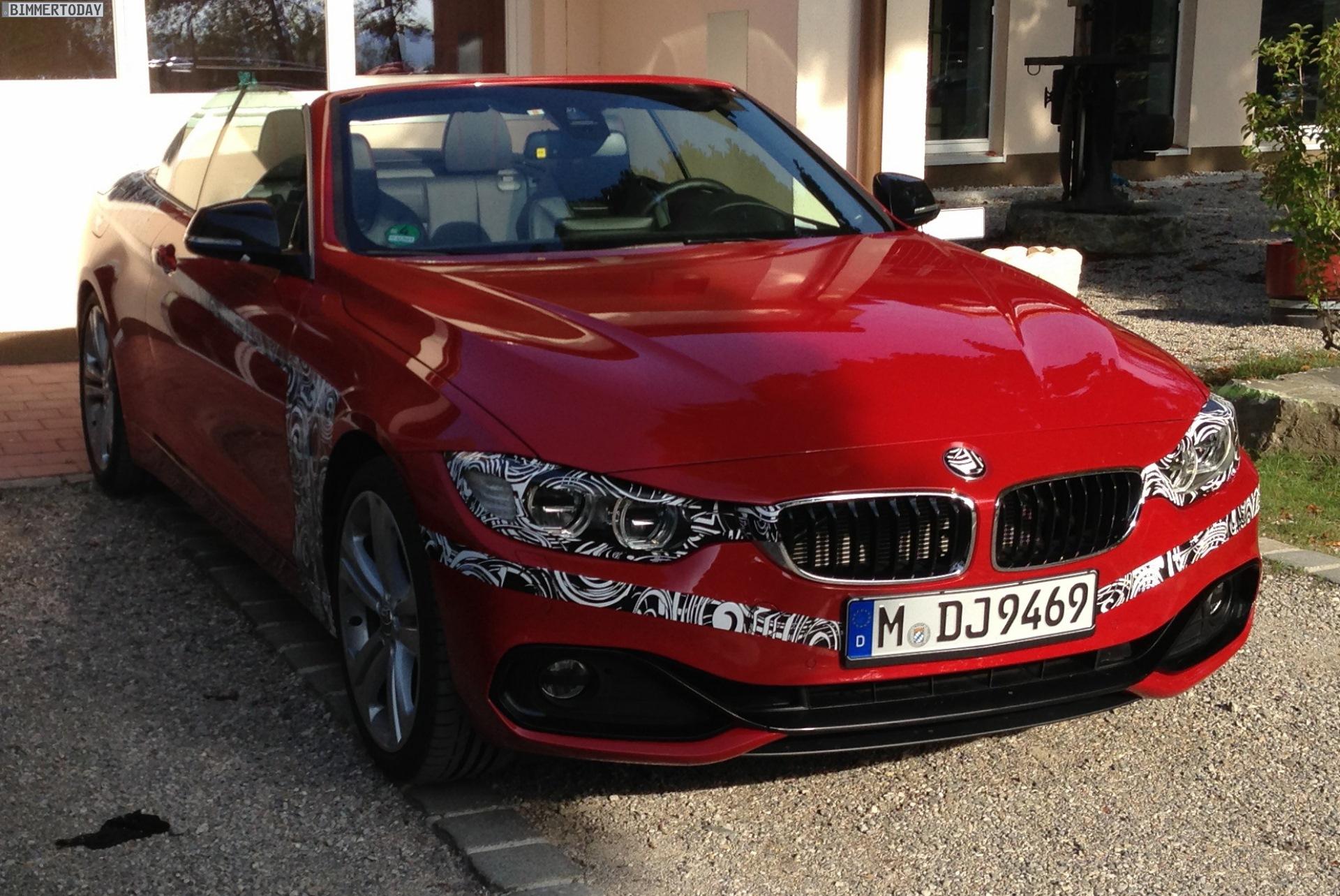 BMW 4-й серии кабриолет
