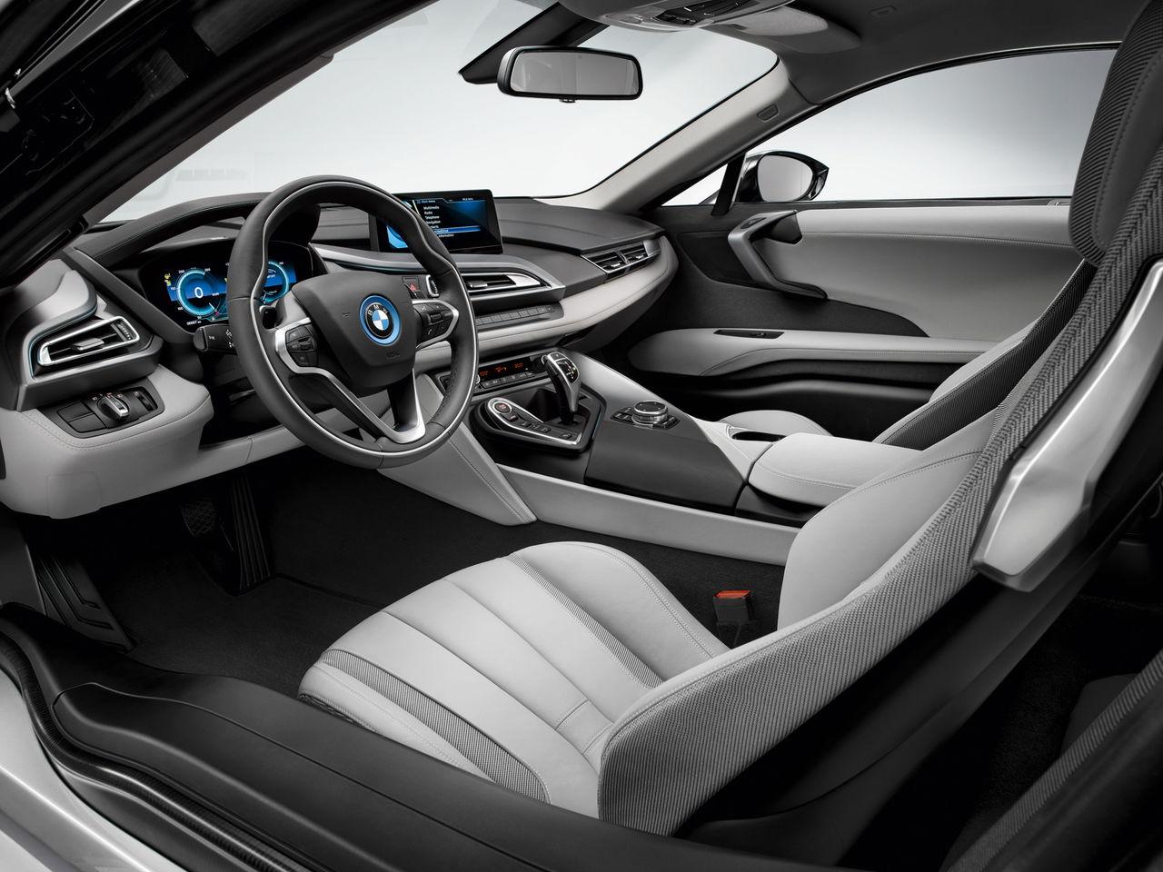 BMW i8 фотографии салона interior salon photo