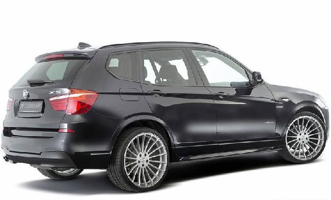 Новый BMW X3 в тюнинге от Hamann