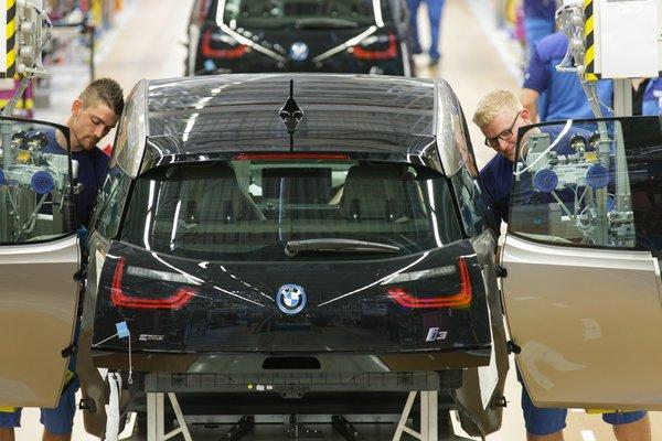 BMW i3 запущен в серийное производство