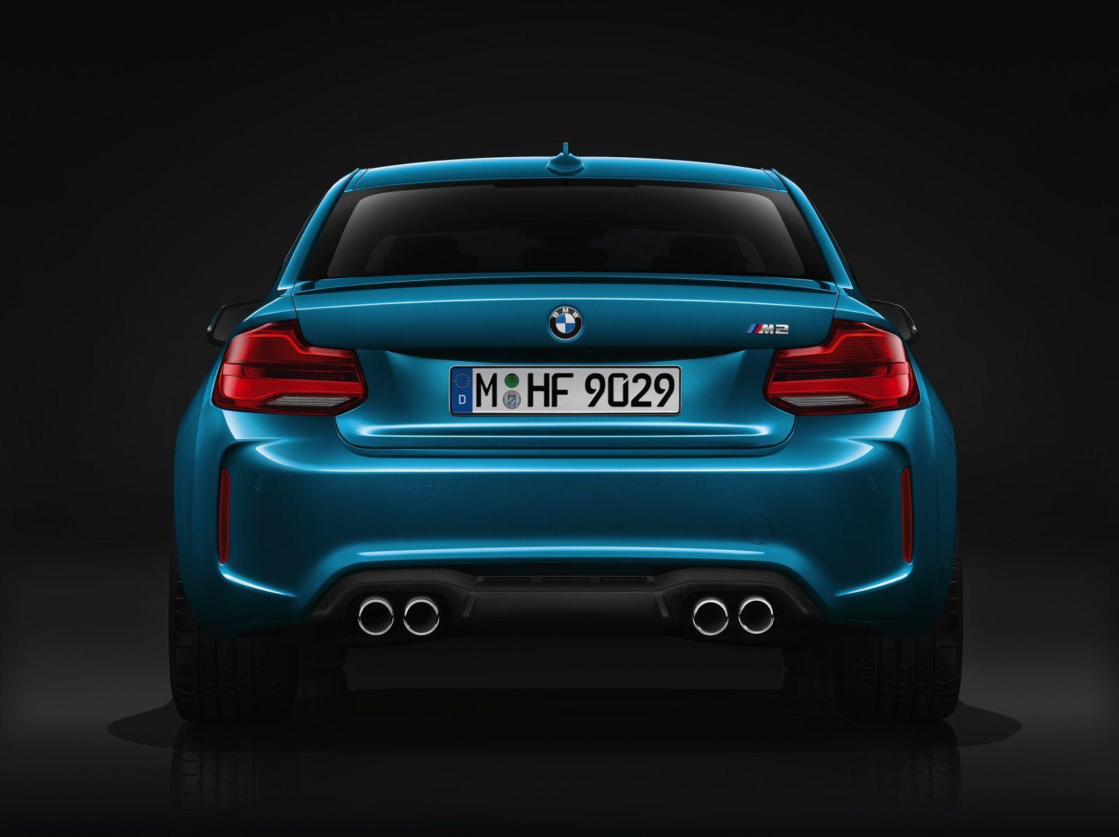 BMW M2 Рестайлинг, фото, задние LED фонари диодные LCI
