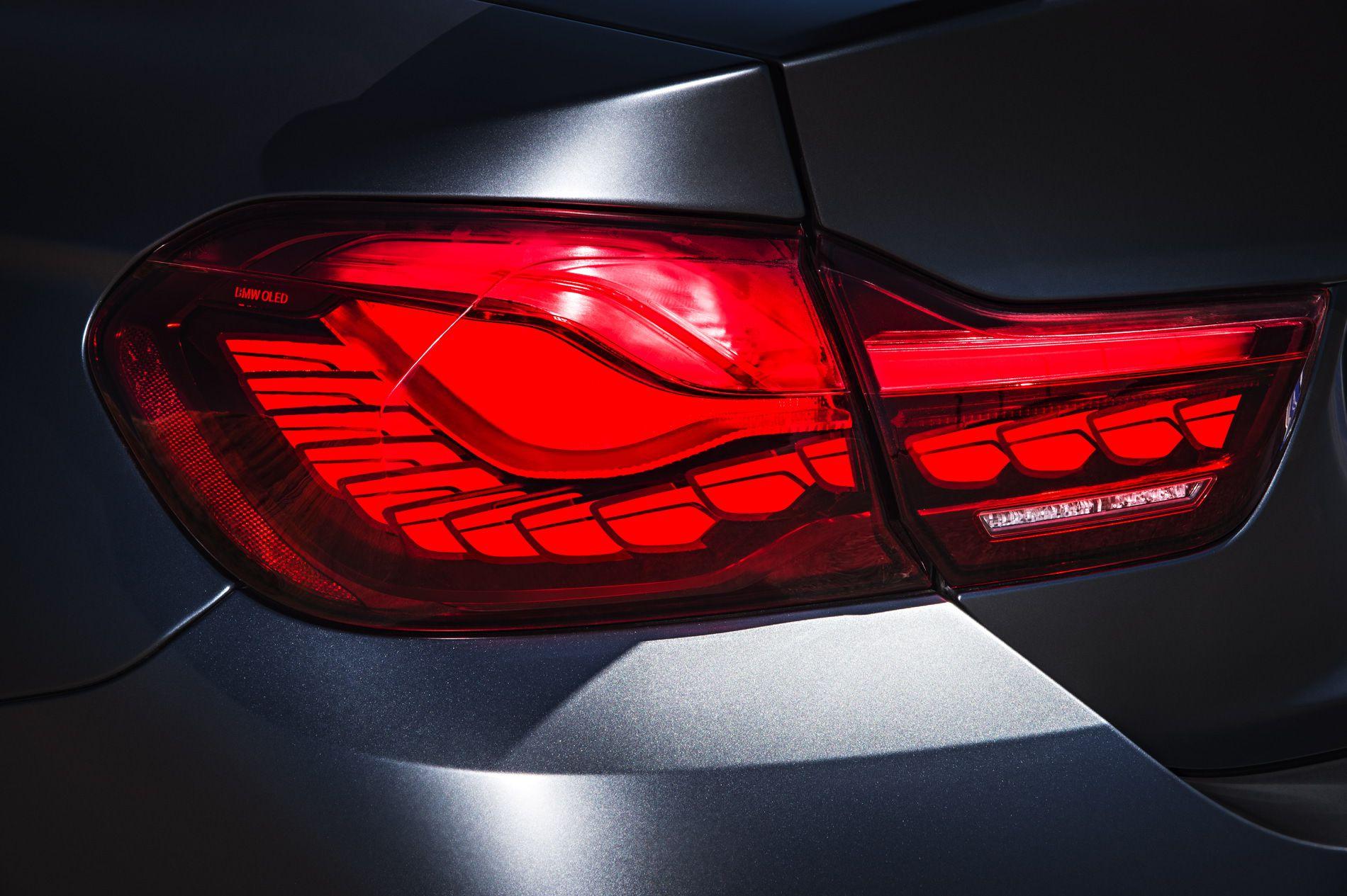 BMW OLED фонари