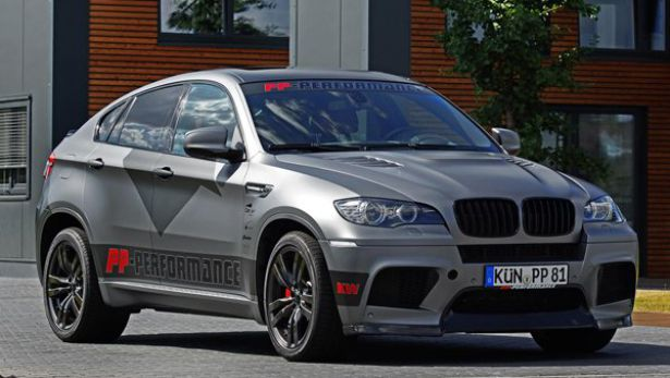 Тюнинг BMW X6M от Cam Shaft и PP-Performance