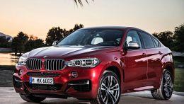 Официальные фото нового  BMW X6