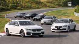 Флагман линейки БМВ, автомобили S-класса, комфорные седаны которые выпускаются начиная с 1977 года и по наше время в кузовах e23, e32, e38, e65, e66, f01, f02, g11, g12