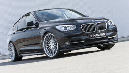 Немецкое ателье Hamann представило в эти выходные новую программу доработки для BMW 5 Series GT