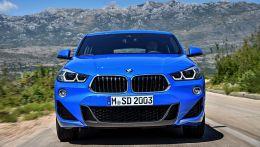БМВ представили публично новый BMW X2