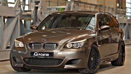 Тюнинг BMW M5 Hurricane RR Touring, G-Power