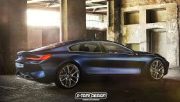 bmw 8er gran coupe G16 фото