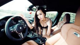 Легкий тюнинг небесно голубой красавицы из Тайланда: BMW M3 в кузове F80