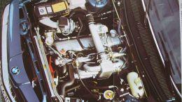 Шестицилиндровый двигатель BMW объемом 3.2 / 3.4 литра оснащенный турбиной низкого давления