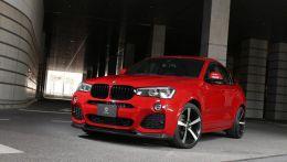 Тюнинг нового BMW X4 от японского тюнинг-ателье 3D Design