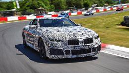 BMW засветило новую модель 8-й серии с шильдиком М8