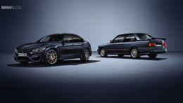 Выпущена специальная серия BMW M3 приуроченая к 30 летнему юбилею модели