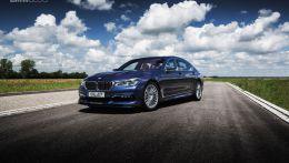 Этим летом появилась новая Alpina B7 которая построена на платформе BMW G11/G12