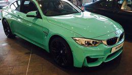 Новый цвет для BMW M4